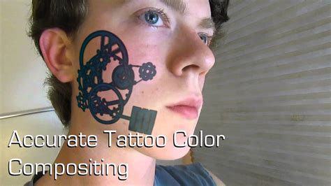 animated steampunk tattoo vfx breakdown youtube