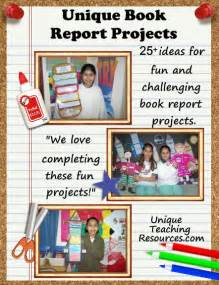 Book Reports Projects Middle School by 25 Book Report Templates Large And Creative Book Report Projects And Ideas Book