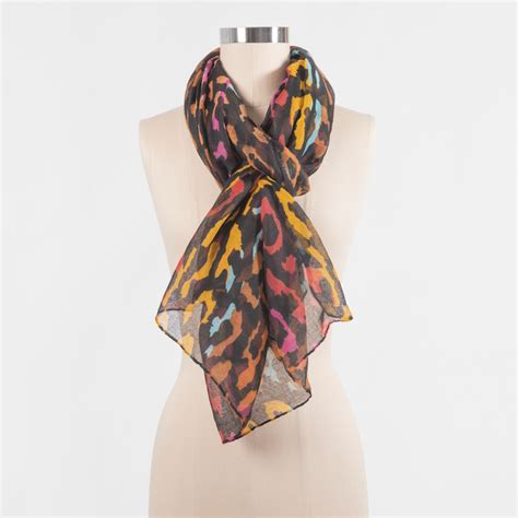 rainbow animal print scarf amazing