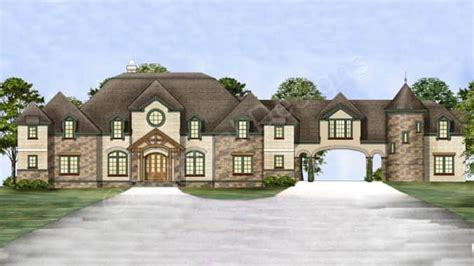 chastain castle house plans porte cochere house plans