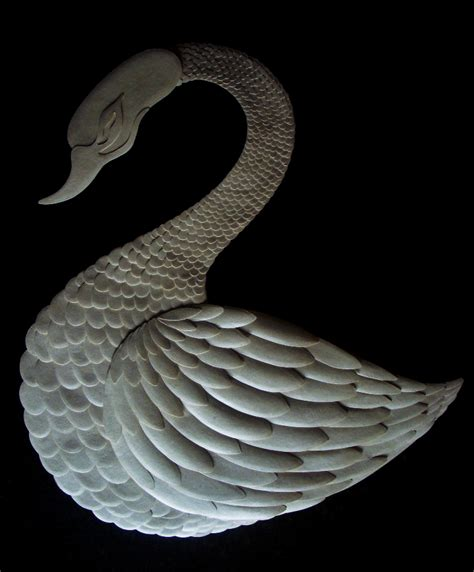 swan paper craft swan paper craft on behance