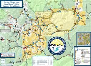 alpine loop colorado map trail information western slope 4 wheelers