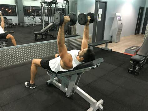 Pectoraux Incliné by Exercice Musculation Pectoraux D 233 Velopp 233 Inclin 233 Halt 232 Res