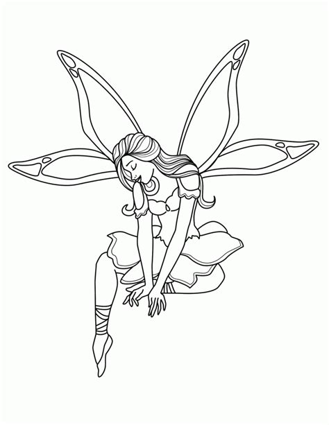 printable coloring in pages free printable fairy coloring pages for kids