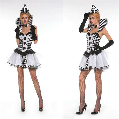 black and white photo creative costumes for costumes for costumes black and white dress headwear necklace gloves