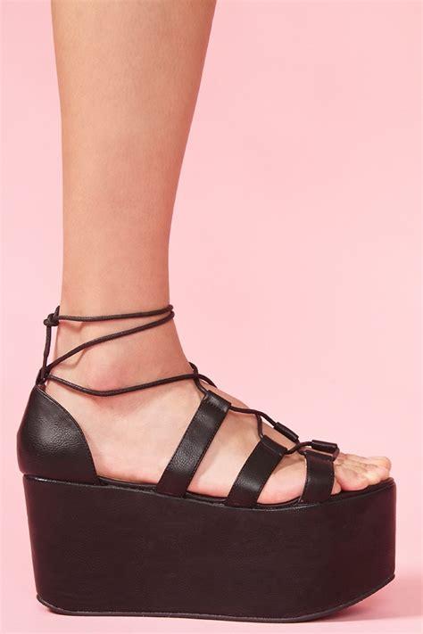 diy platform shoes twist platform i shoes sandals