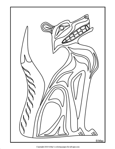 printable native art united states state symbols printables us coloring pages