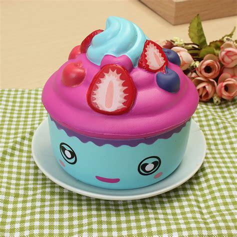Leilei Cupcake leilei squishy aardbeien fruit cup cup cake