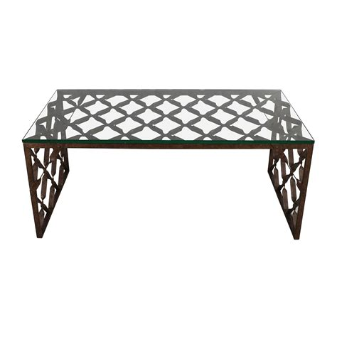 crate and barrel glass coffee table 34 off west elm storage table west elm white lacquer