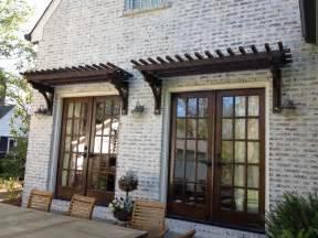 Pergola Doors by Trellis Over French Doors Window Amp Door Pergolas