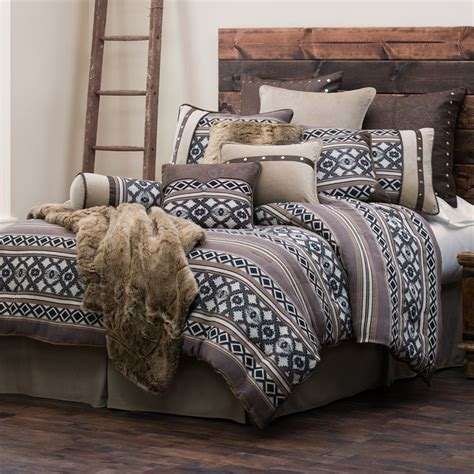 rustic comforter sets tucson comforter set hiend accents rustic bedding