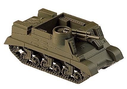 m7b1 priest armored vehicle wwii us & allies ho scale