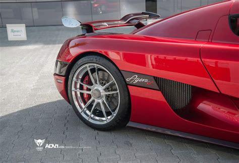 luxury custom koenigsegg agera r gets adv1 wheels