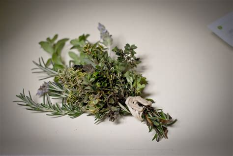 Wedding Bouquet Herbs by Blame It On The Food 187 Herb Bouquet