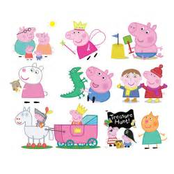 peppa cliparts