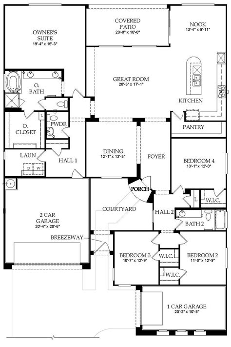 Pulte Floor Plans | pulte home plans smalltowndjs com