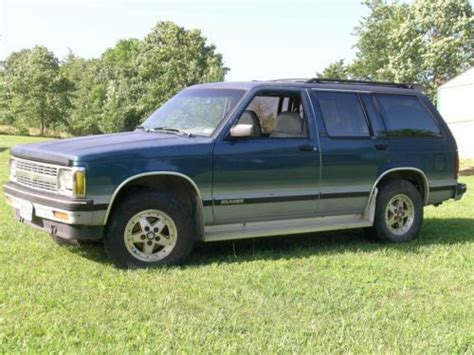 find used blazer 1997 4 doors running good in houston find used 1992 chevrolet s10 blazer tahoe lt 4x4 4 door