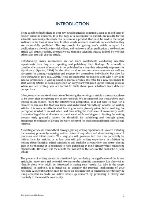 writing a scientific paper for publication writing scientific paper in studentpapers x fc2