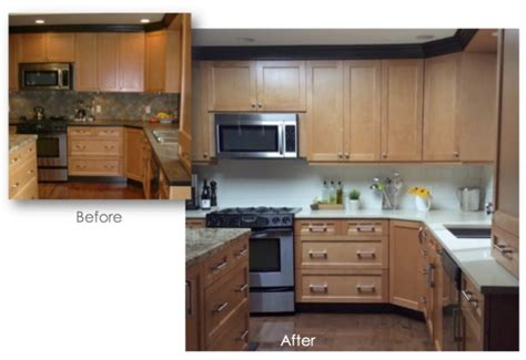 Kitchen Countertops Makeover Quot Interesting Quot To Classic Kitchen Counter And Backsplash