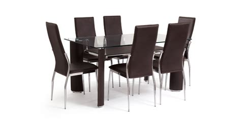 dining table and 6 chairs dining tables and chairs in contemporary designs scs sofas