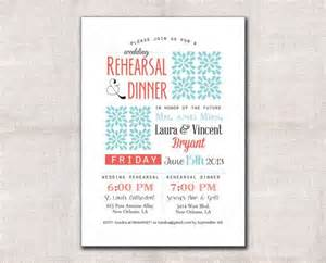 wedding rehearsal and dinner invitations wedding rehearsal and dinner invitation custom printable 5x7