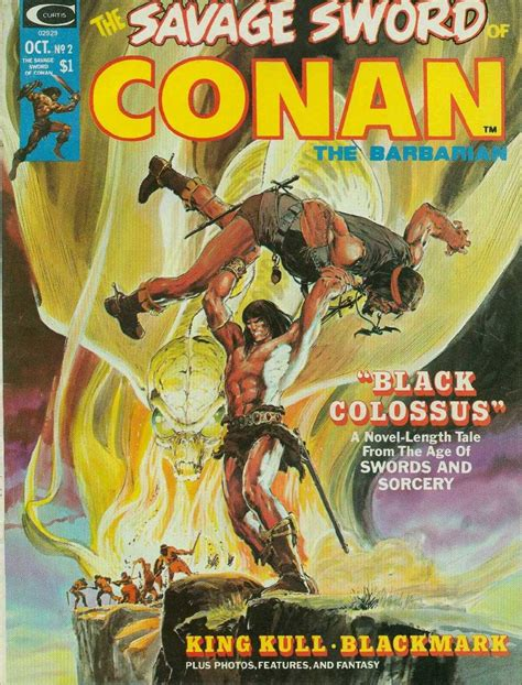 The Savage Sword Of Kull Volume 1 the savage sword of conan 2 black colossus issue