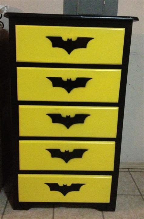 batman bedroom furniture batman dresser everything batman pinterest batman