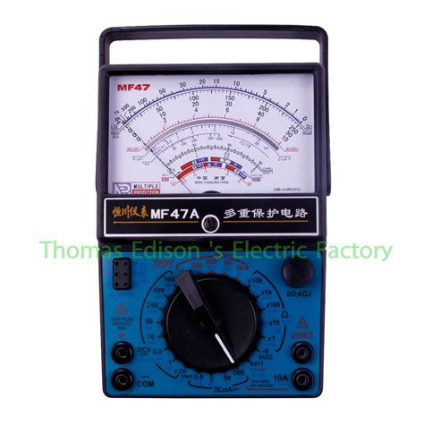 Multitester Analog high quality electrical ac dc volt ammeter mf47a analog