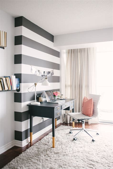 home office jacquelyn clark s simply chic home office office tour