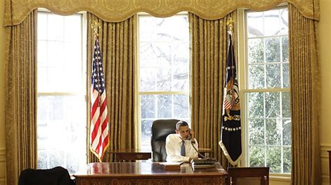 oval office curtains president obama has redecorated the oval office middle