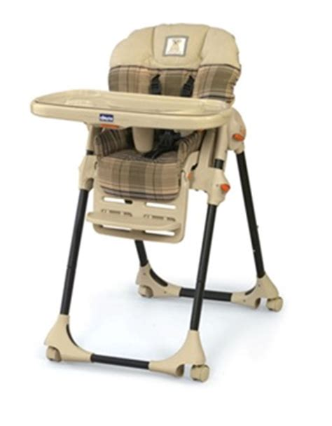chicco polly high chairs recalled due to laceration hazard