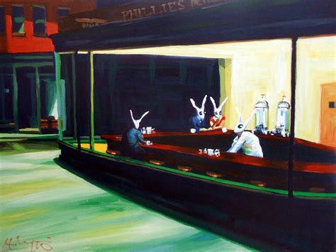 edward hopper forty masterworks 3888143969 nightrabbits by hillarywhiterabbit via com nighthawks before and after hopper