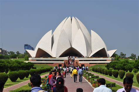 temple of lotus the lotus temple tourism spot in delhi found the world