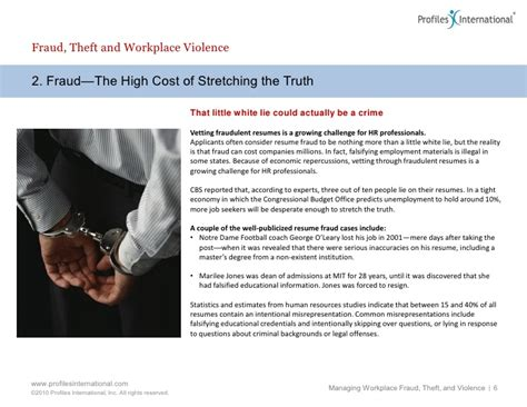 leader s guide to managing workplace fraud theft and violence