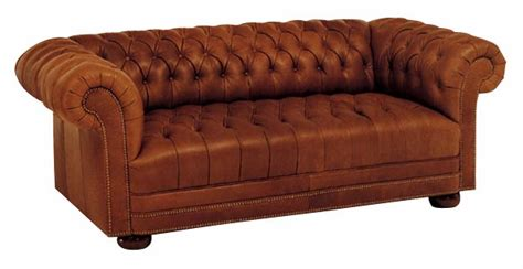 chesterfield size leather sleep sofa club furniture