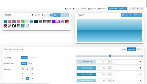 jquery layout maker css gradient generator jquery plugins