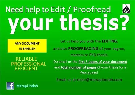 professional dissertation editing services the basic five aspects of thesis editing services are