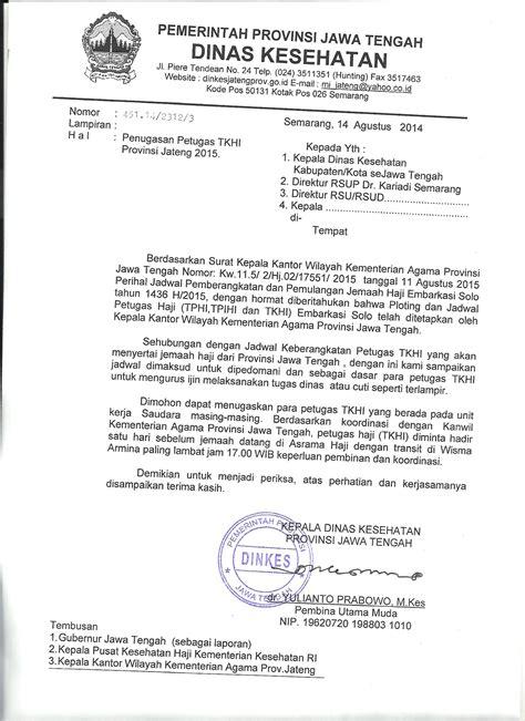 surat penugasan tkhi dan jadwal pemberangkatan dan pemulangan haji soc 2015