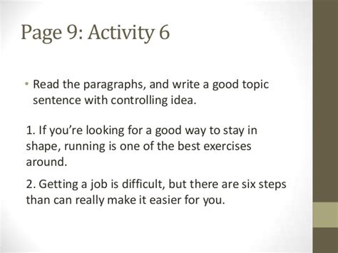 Great Writing 3 From Great Paragraphs To Great Essays by Great Writing 3 Unit 1 Lecture