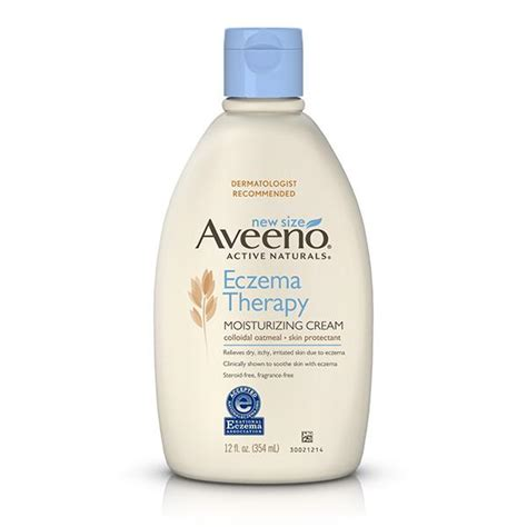 Aveeno Eczema Therapy aveeno eczema therapy moisturizing 12
