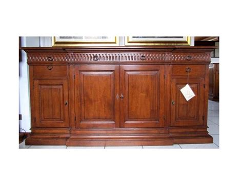mobili in legno massello prezzi credenza bamax in legno massello prezzo outlet