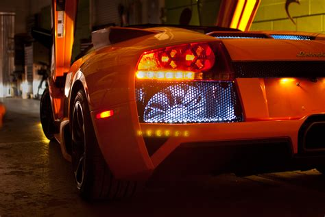 lamborghini light exterior lighting ultra auto sound