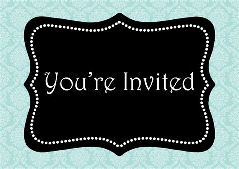 You Re Invited Note Card Word Template Publisher Template Images Frompo You Re Invited Template
