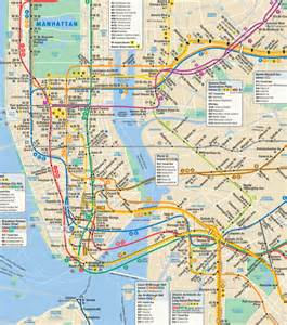 New York City Transit Map by New York City Travel Tipstake A Subway Or Bus Ride In New