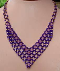 25 best ideas about beaded necklace patterns on
