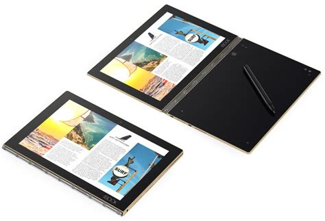 android books lenovo book ultra slim 2 in 1 announced comes in android 6 0 and windows 10 versions