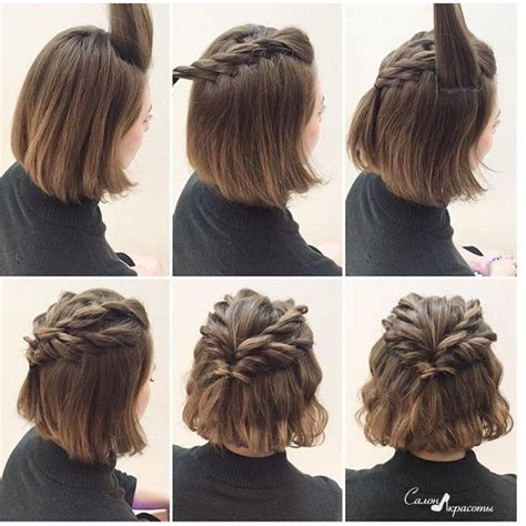 how to braid short hair step by step crown braid for short hair rapunzel rapunzel let down