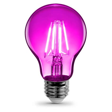 pink bulbs feit electric 60w equivalent pink spiral cfl light bulb