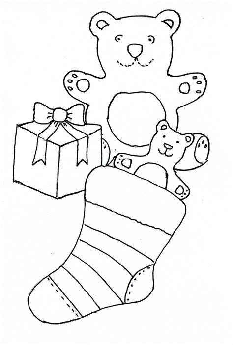 Christmas Drawings For Children Drawing Sketch Library Drawing Template For