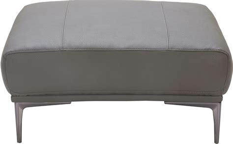 king ottoman king gray leather ottoman 18250 o j m